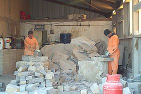 """Men at work, J. Suttle Swanage Quarries"""