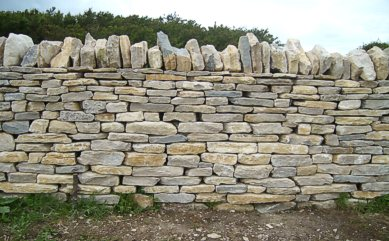 "Dry Stone Walling - ""Click here for a larger picture"""