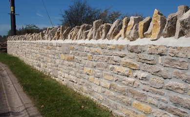 "Mortared Walling - ""Click here for a larger picture"""